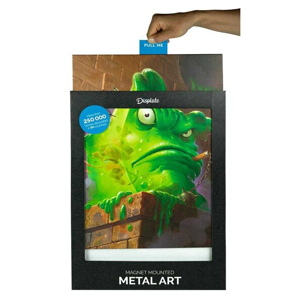 DC Comics Metall-Poster Batman Light Absorption Black Mirror 32 x 45 cm