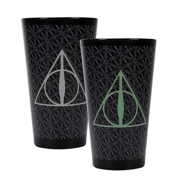 Harry Potter Glas mit Thermoeffekt Heligtümer des Todes