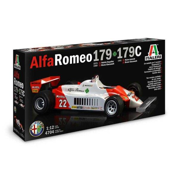 Alfa Romeo 179 F1.Der Alfa Romeo 179 ist ein Rennwagen, der von der renommierten italienischen Marke Alfa Romeo von 1979 bis 19