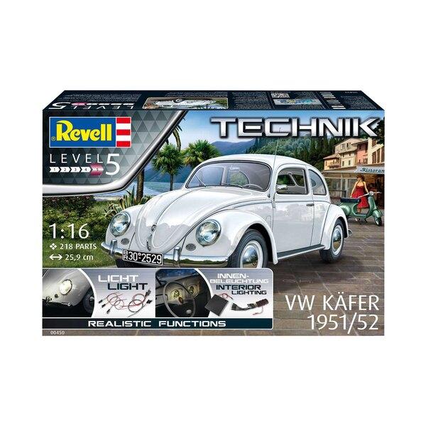 1951/52 VW (VW / VW) Käfer Technik Serie Mit mehr als 21 Millionen produzierten Exemplaren von 1938 bis 2003 zählt der Original
