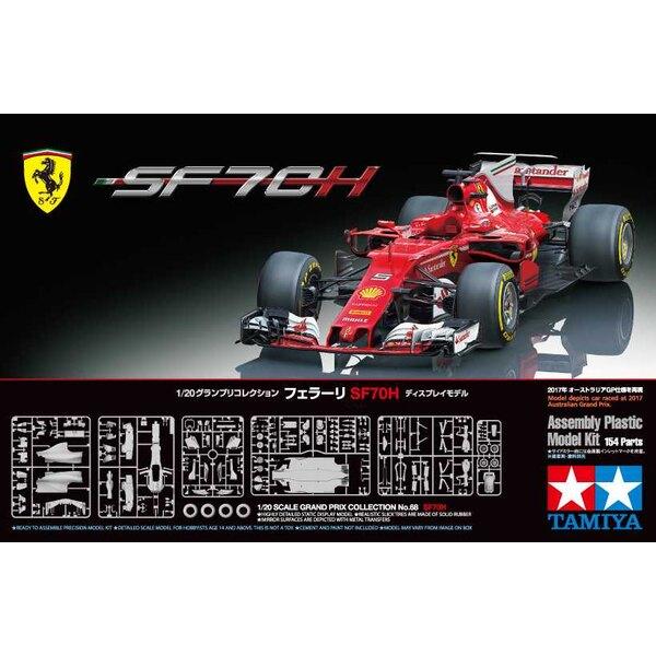 Ferrari SF70H F.1 Der SF70H, der 63. von Scuderia Ferrari entworfene und gebaute Einsitzer, wurde aus größeren gesetzlichen Ände