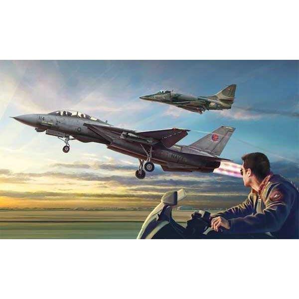 Top Gun Combo F-14A vs. A-4F
