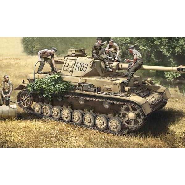 Panzer IV F1 / F2 / G und Truppen