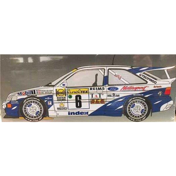Ford Escort RS Cosworth Rallye Monte Carlo 1994 Froancois Delecour - Daniel Grataloup