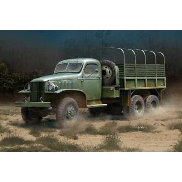 US GMC CCKW 352 Stahl-Ladung-LKW