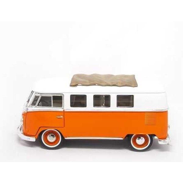 VW MICROBUS 1962 ORANGE