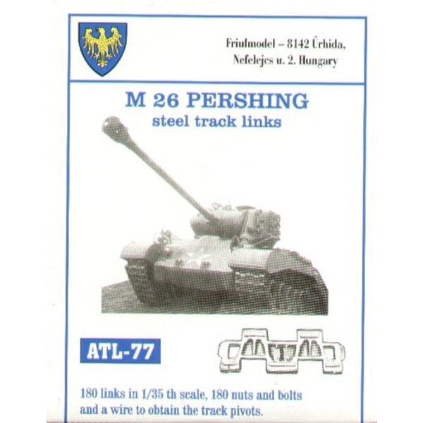 M26 Stahl von Pershing verfolgt Verbindungen