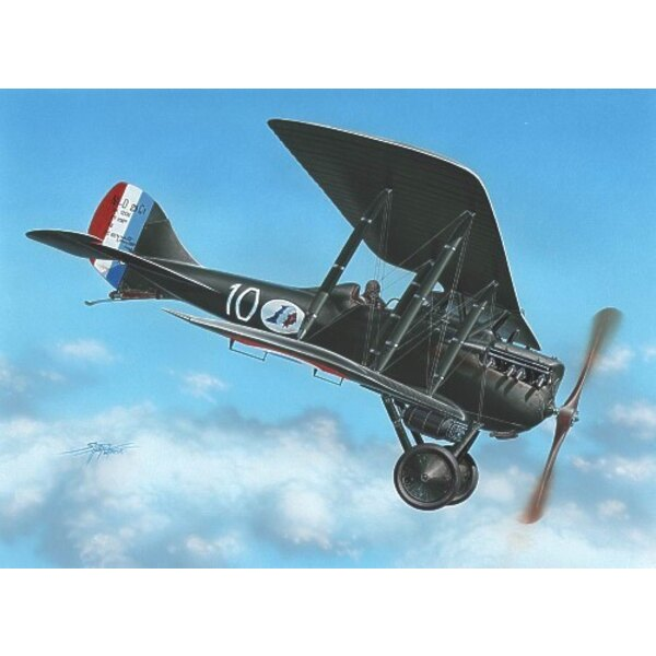 Nieuport NiD 29: Abziehbilder das 2 x Frankreich und das 1 x Belgien. More als 700 gebaut in Frankreich