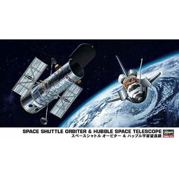 Raumfähre Orbiter & Hubble Space Telescope