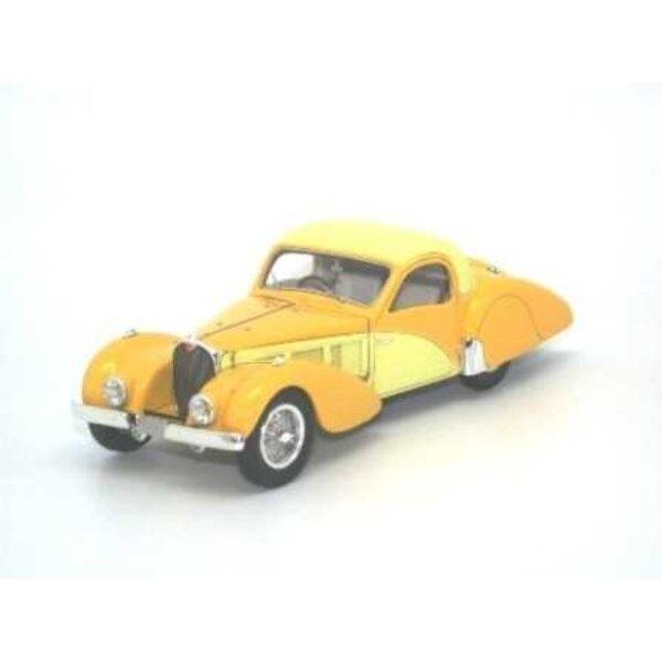 Bugatti Type 57C Atalante 1937 YELLOW SN57551 2 TONS