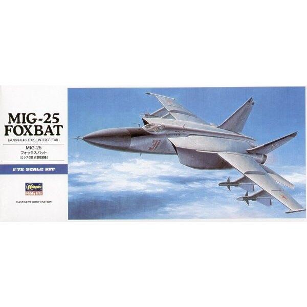 Mikoyan MiG- 25 Foxbat