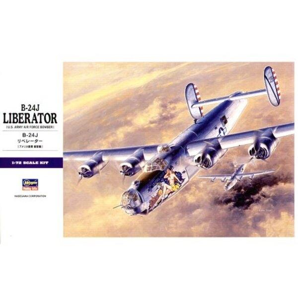 Consolidated B-24J Liberator. Alternative 8. Luftwaffenabziehbilder auf Xtradecal X02572 (Queen of Hearts & Alfred II) und X7208