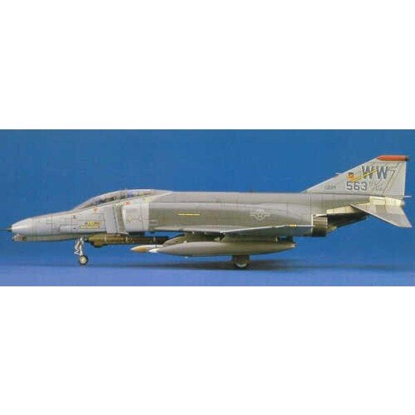 F-4G Phantom Wildes Wiesel.With 1 UND 3 Stück-Kabinendach