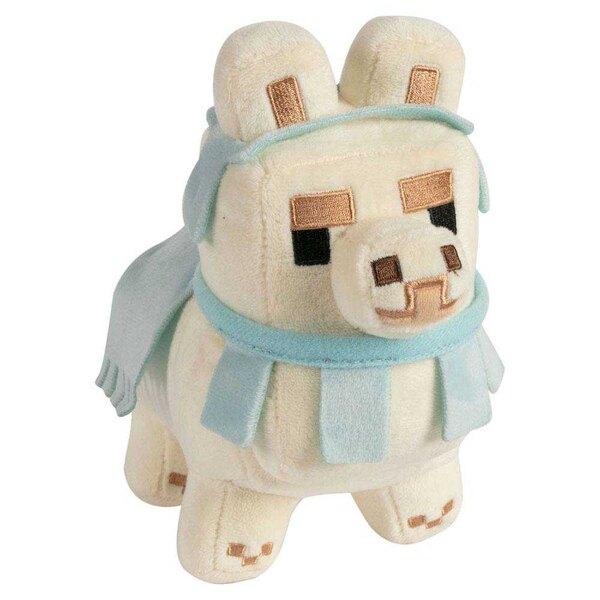 Minecraft Happy Llama Weißes Baby Llama Weiß / Baby Blue 16 cm