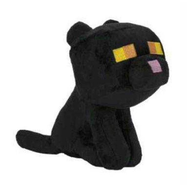 Minecraft Plüsch Happy Explorer Black Cat 18 cm