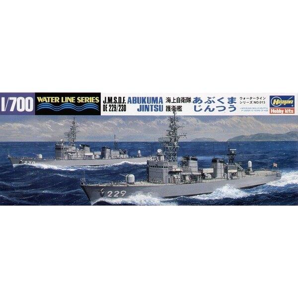JMSDF Destroyers Abukuma & Jintsu (2 Schiffe in 1 Kasten)