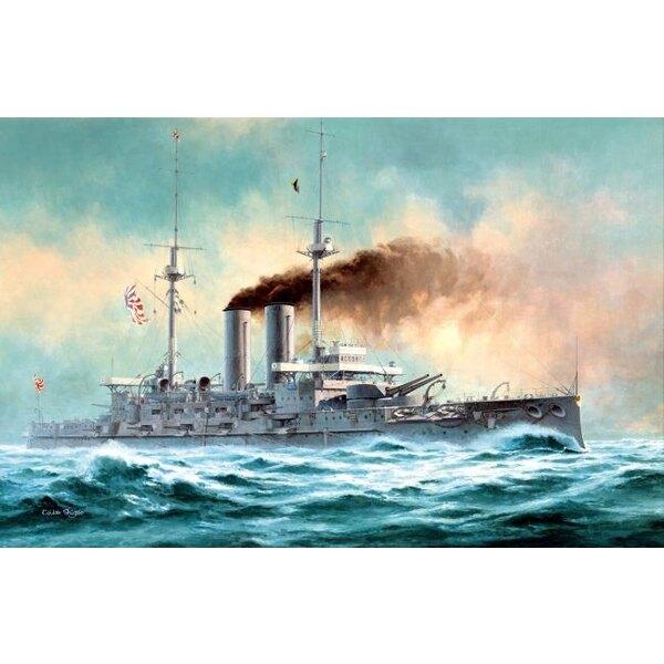 Navy/IJN japanisches Reichsschlachtschiff MIKA SA 'Der Kampf des Meeres von Japan'