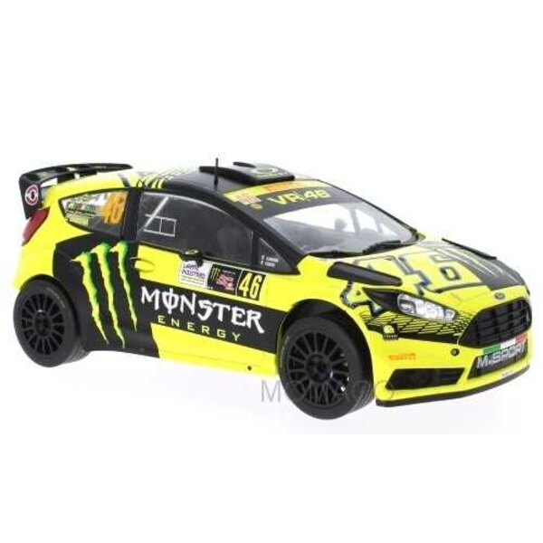 """FORD FIESTA RS WRC 46 """"MONSTER"""" ROSSI / CASSINA RALLY MONZA 2015"""