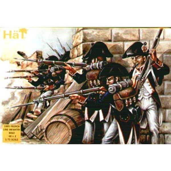 1805 französische Linieninfanterie.