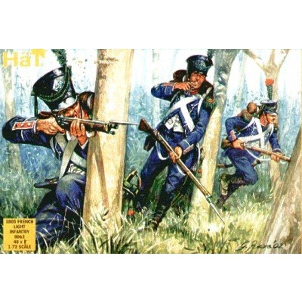 1805 französische Leichte Infanterie.