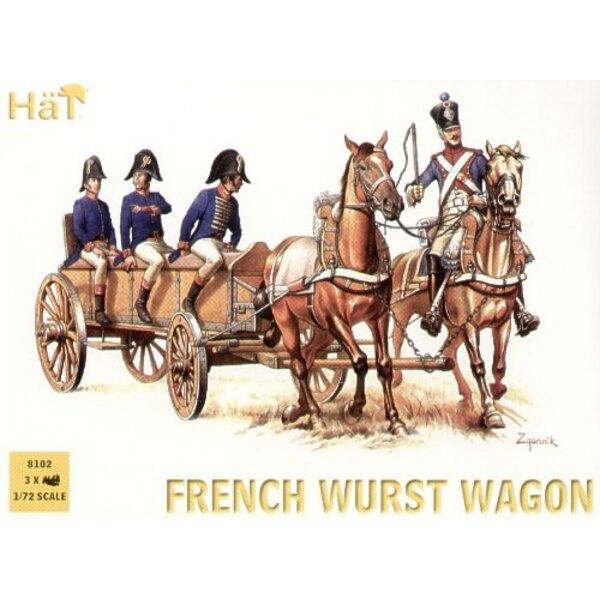Französischer Wurst Wagen