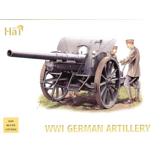 4 x 1.WK deutsche Artillerie und Geschmeidig. Beschreibung - 4 Kanonen 4 Protzen und volle Besatzung. Besteht aus 7.7 Feldkanone