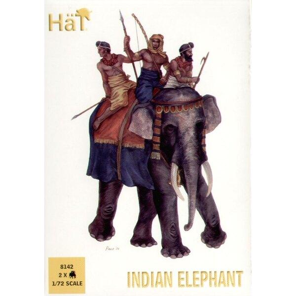 Indischer Elephant x 2 Elefanten pro Schachtel