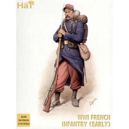1.WK Französische Infanterie 1914