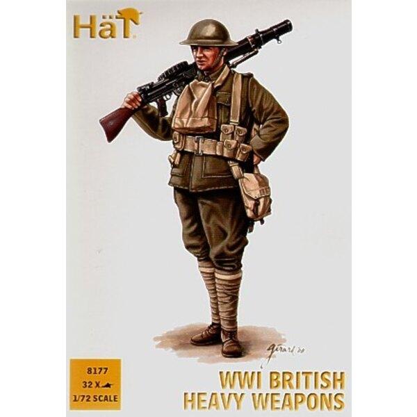 WWI Briten Schwere Waffen