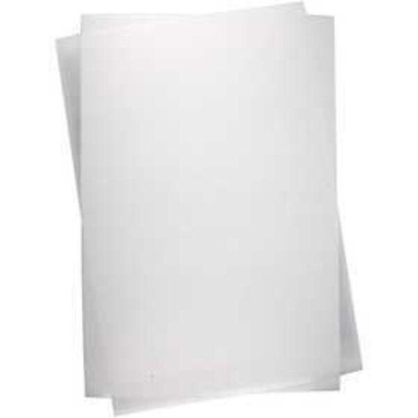 Plastik-Schrumpffolien, Blatt 20x30 cm, Glänzend transparent, 100Bl.