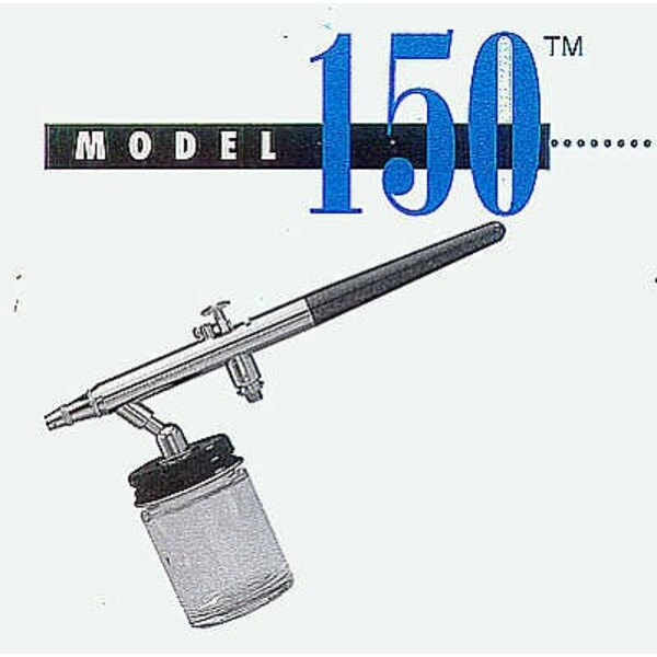 Badger 150 HeavyDuty Airbrush with Gravity Cup