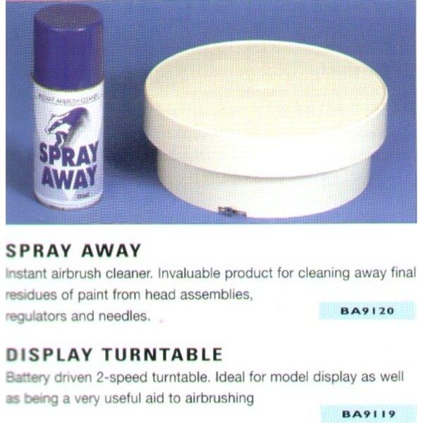 Präsentationsplatte. Batterie gesteuert 2 Geschwindigkeitsplattenteller. Kann für das Anzeigen oder airbrushing verwendet werden