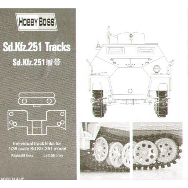 Einspritzung von Sd.Kfz.251 formte Spuren