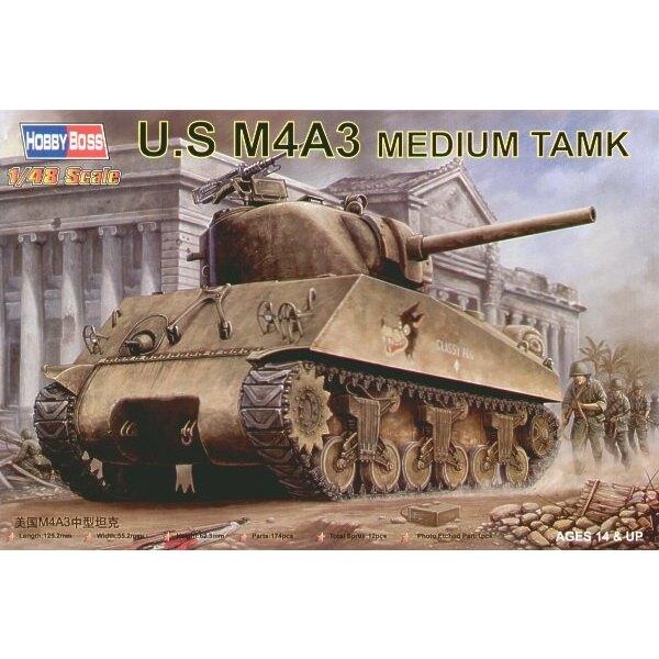 US Panzer M4A3