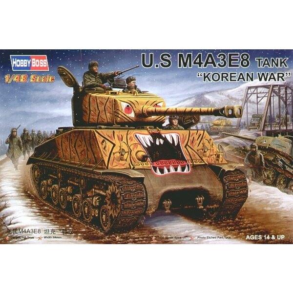 US M4A3 E8 Panzer