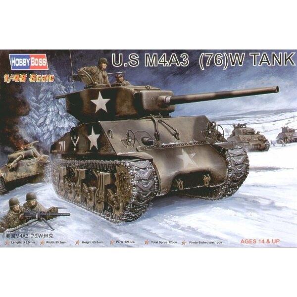US M4A3 76 (W) Panzer