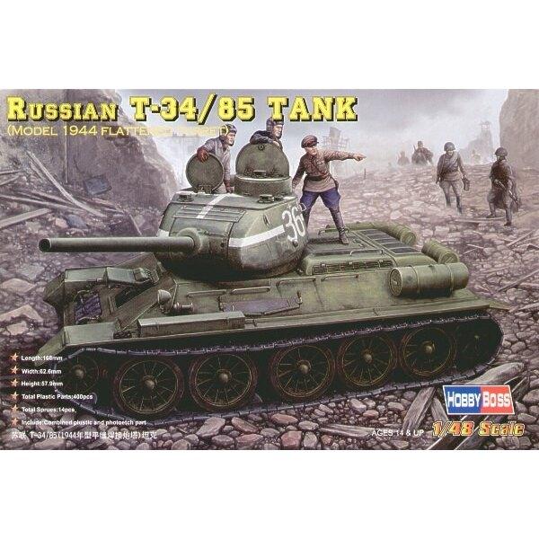 T-34/85 1944-Typ mit Glatt gemachten Türmchen)