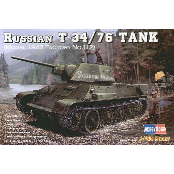 Russischer T-34/76 (1943-Fabrik 112)
