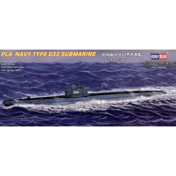 Chinesisches Marineunterseeboot des Typs 33 (Unterseeboote)