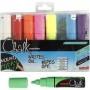 Chalk Marker, Strichstärke: 8 mm, Sortierte Farben, 8Stck. Uni-Posca CCH-279918