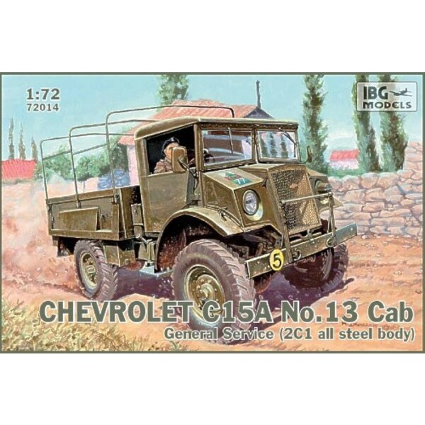 Chevrolet C15A No.Cab 13 General Service (2C1 all steel body)