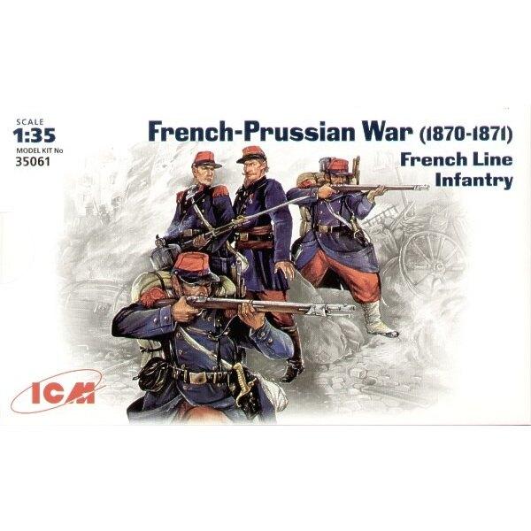 Deutsch-französissche Krieg 1870-1871 französische Linieninfanterie