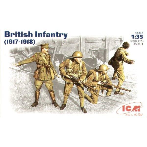 Britische Infanterie 1917-1918