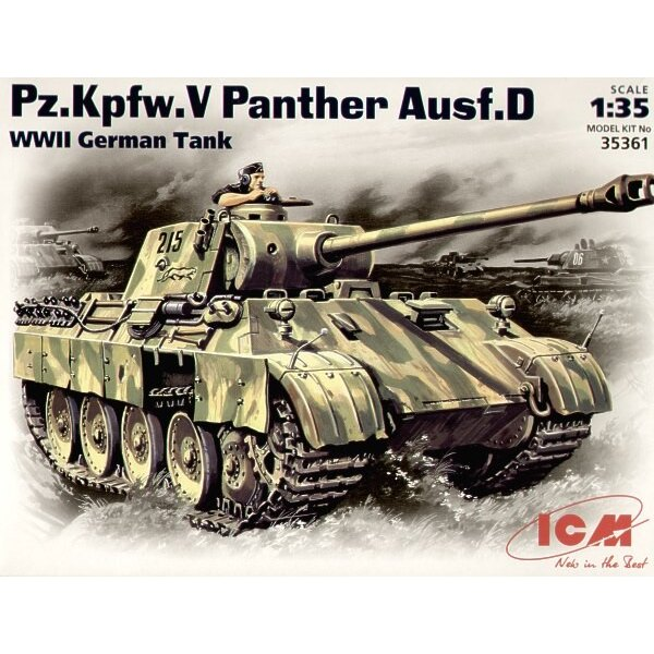 Pz. Kfw. V Ausf. D Panther