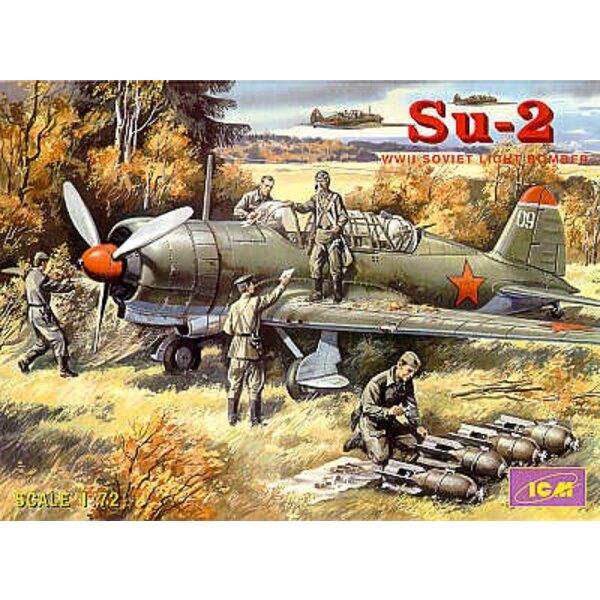 Sukhoi Su-2 2WK sowjetischer Leichter Bomber