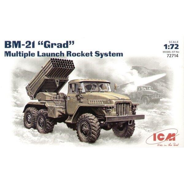BM-21 Grad multiple rocket launch system