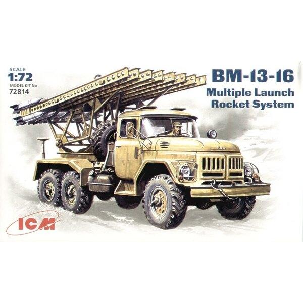 BM-13-16 MLRS Katyushin