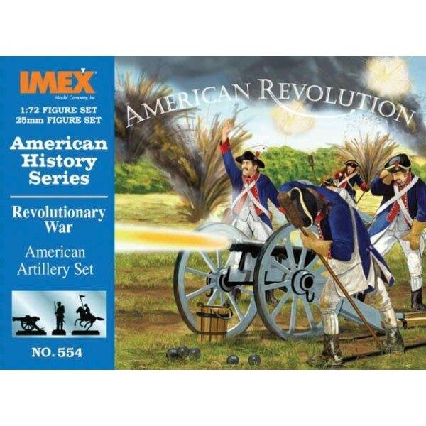 Amerikanischer Krieg der Unabhängigkeitsamerikaner-Artillerie