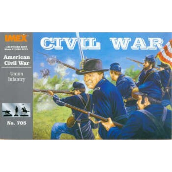ACW Nordstaatlerische infanterie