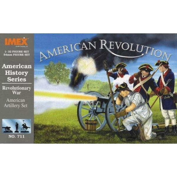 Amerikanischer Artillerie-Amerikaner- Amerikanische Revolution